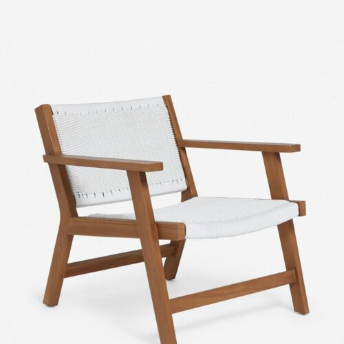 Ylva Indoor / Outdoor Accent Chair, White