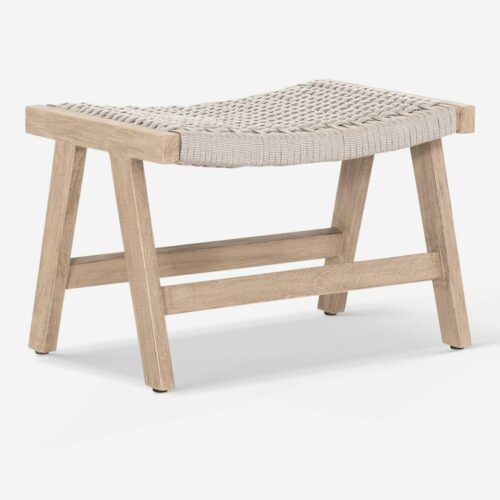 Ylva Indoor / Outdoor Ottoman, Natural