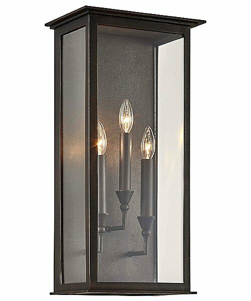 Chauncey Outdoor Wall Sconce by Troy Lighting - Color: Bronze - Finish: Bronze - (B6993)