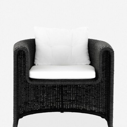 Tahoe Indoor / Outdoor Accent Chair, Coal