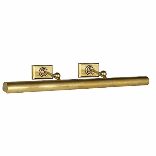 Cabinet Maker's Picture Light by Visual Comfort - Color: Gold - Finish: Brass - (SL 2707HAB)