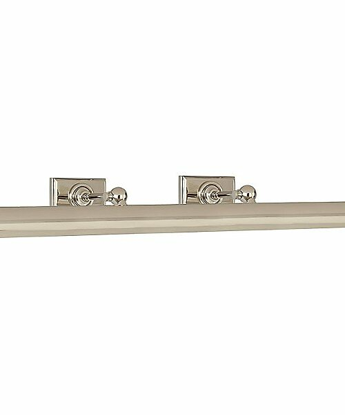 Cabinet Maker's Picture Light by Visual Comfort - Color: Silver - Finish: Polished Nickel - (SL 2707PN)