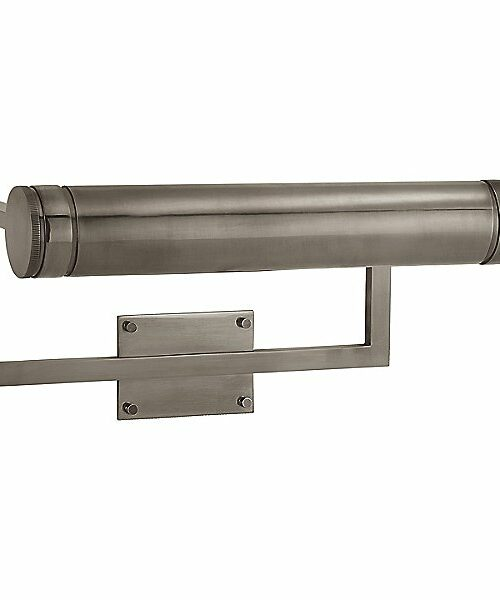 Cosmopolitan Picture Wall Light by Visual Comfort - Color: Grey - Finish: Nickel - (TOB 2621AN)