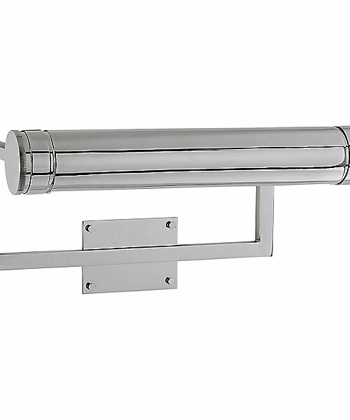 Cosmopolitan Picture Wall Light by Visual Comfort - Color: Silver - Finish: Polished Nickel - (TOB 2621PN)