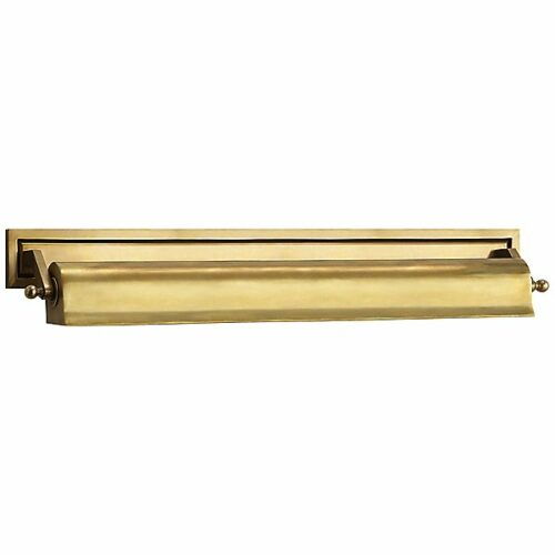 Library 22-Inch Picture Light by Visual Comfort - Color: Brass - Finish: Brass - (TOB 2606HAB)