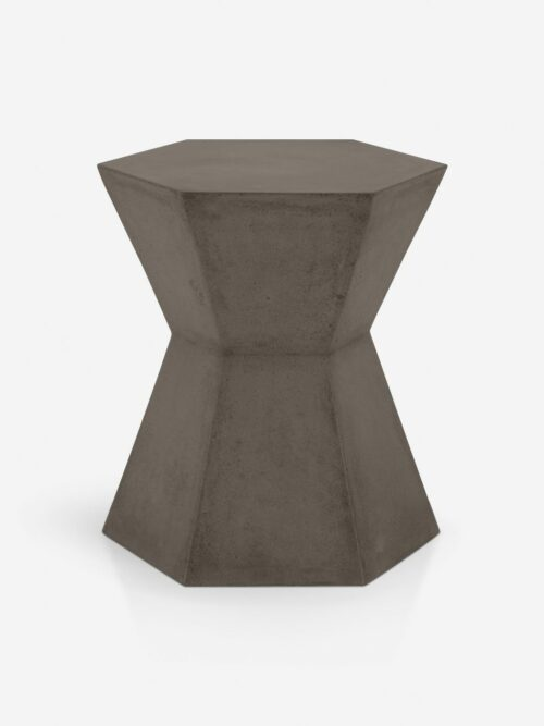 Kai Indoor / Outdoor Side Table, Slate Gray