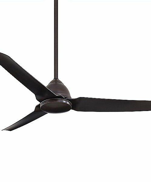 "Minka Aire Java Indoor/Outdoor Ceiling Fan - Size: 54"" - Color: Brown - Number of Blades: 3 - Blade Color: Kocoa - F753-KA"