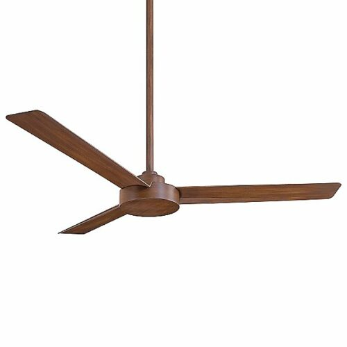 """Minka Aire Roto Ceiling Fan - Size: 52"""" - Color: Wood tones - Number of Blades: 3 - Blade Color: Distressed Koa Wood - F524-DK"""