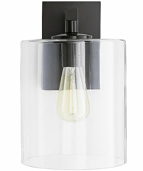 Parrish Outdoor Sconce by Arteriors - Color: Black - Finish: Iron - (49196)