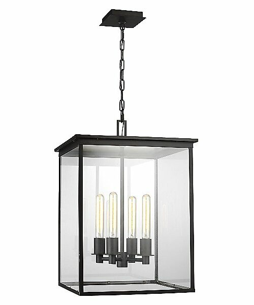 Freeport Outdoor Pendant Light by Chapman & Myers - Color: Clear - Finish: Glossy - (CO1154HTCP)