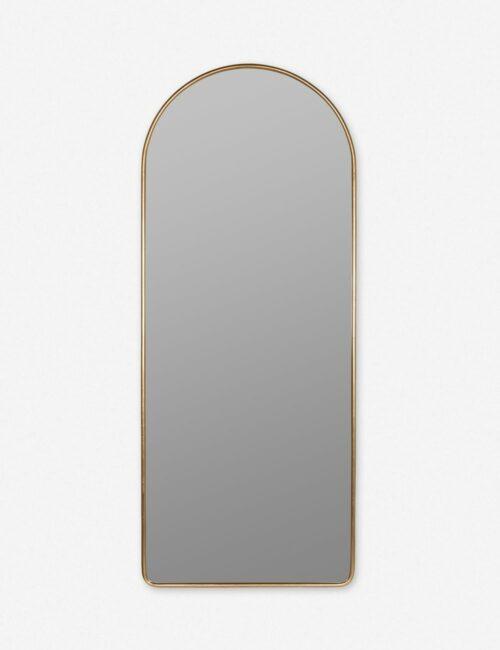 Shashenka Floor Mirror, Gold
