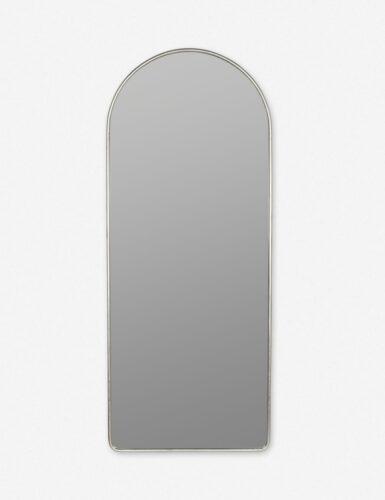 Shashenka Floor Mirror, Silver