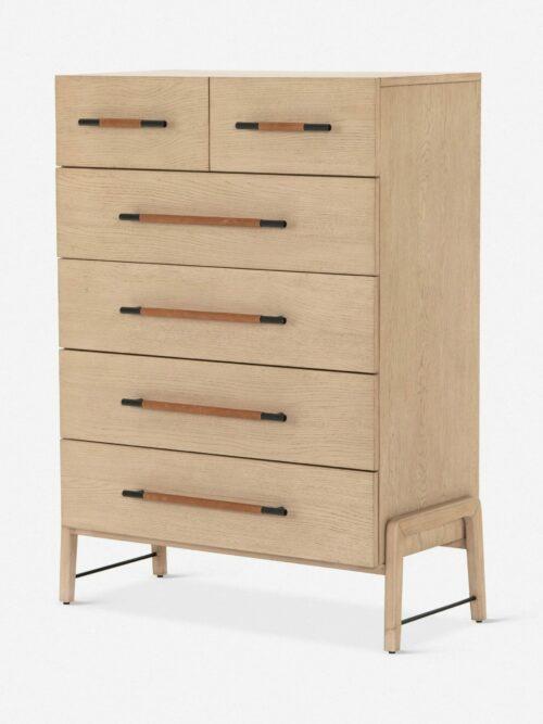 Avalon 6-Drawer Dresser, Tall