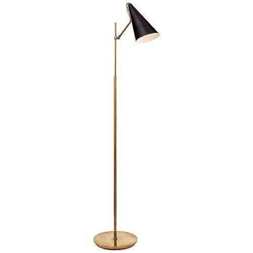 Clemente Floor Lamp by Visual Comfort - Color: Black - Finish: Black - (ARN 1010HAB-BLK)