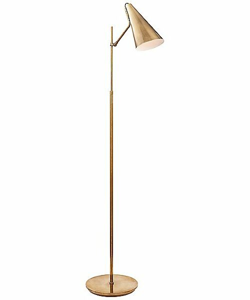 Clemente Floor Lamp by Visual Comfort - Color: Brass - Finish: Brass - (ARN 1010HAB-HAB)