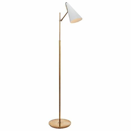 Clemente Floor Lamp by Visual Comfort - Color: White - Finish: White - (ARN 1010HAB-WHT)