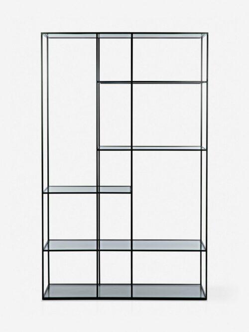 Giada Bookcase, Black / Large
