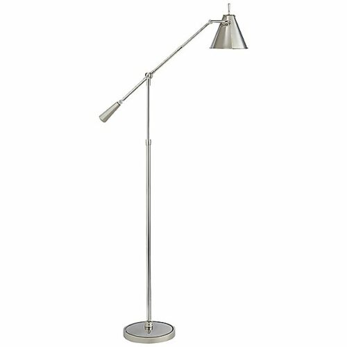 Goodman Floor Lamp by Visual Comfort - Color: Silver - Finish: Polished Nickel - (TOB 1536PN)