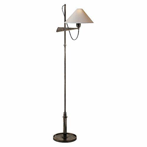 Hargett Bridge Arm Floor Lamp by Visual Comfort - Color: Bronze - Finish: Bronze - (SP 1505BZ-NP)