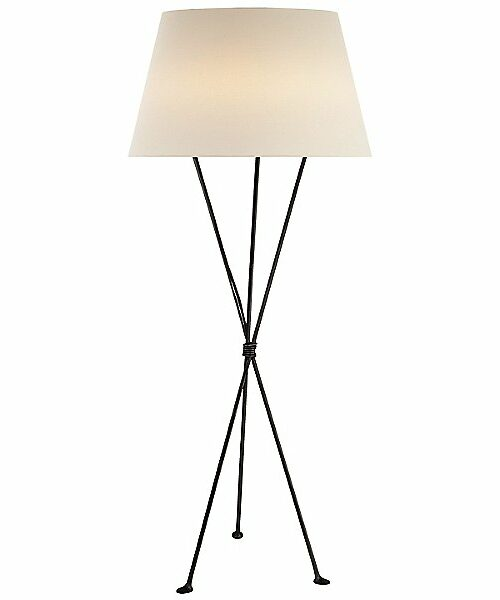 Lebon Floor Lamp by Visual Comfort - Color: Iron - Finish: Iron - (ARN 1027AI-L)