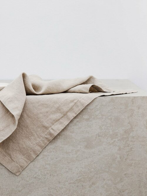 Linen Table Napkins - Natural