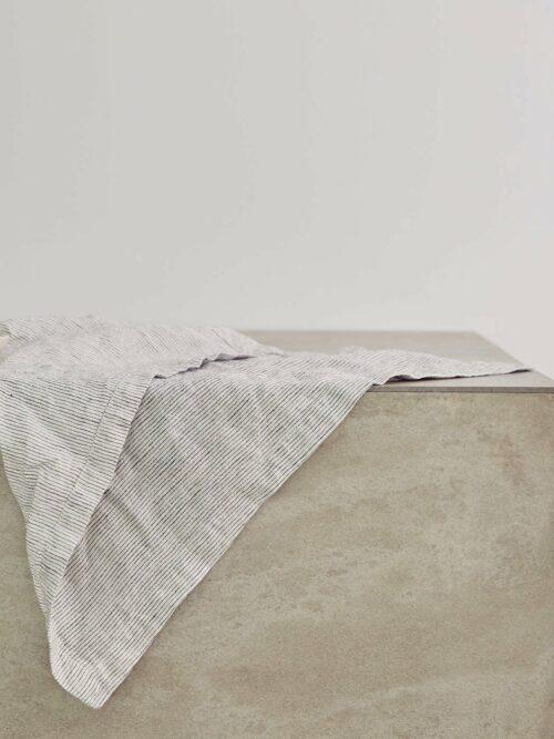 Linen Table Napkins - Pinstripe