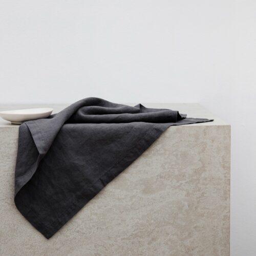 Linen Table Napkins - Slate