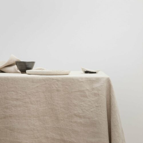 Linen Tablecloth - Natural