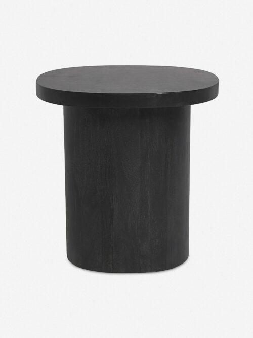 Luna Side Table, Black