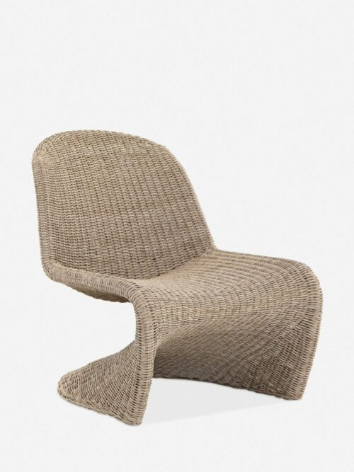Manila Indoor / Outdoor Accent Chair, Natural