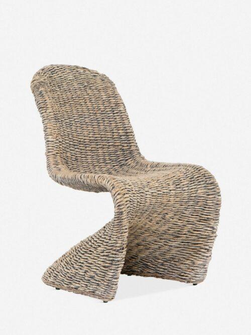 Manila Indoor / Outdoor Dining Chair, Gray Wash