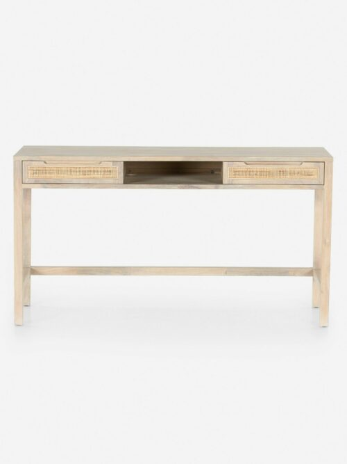 Margot Modular Desk, Whitewash