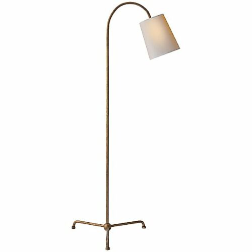 Mia Floor Lamp by Visual Comfort - Color: Gold - Finish: Iron - (TOB 1021GI-NP)