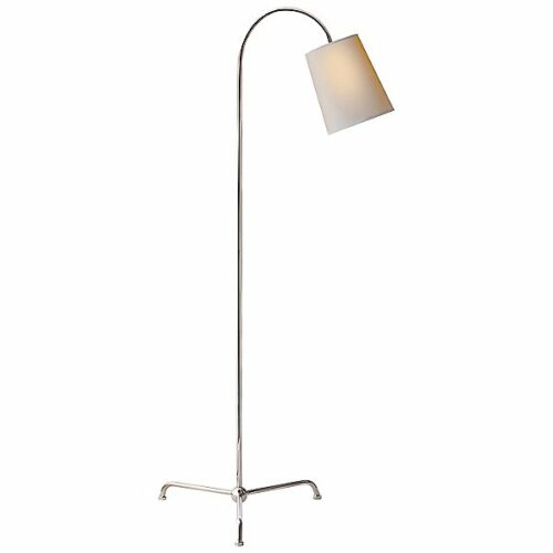 Mia Floor Lamp by Visual Comfort - Color: Silver - Finish: Nickel - (TOB 1021PN-NP)