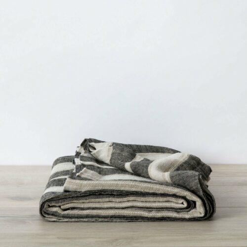 Mira Linen Bedcover - Enzo