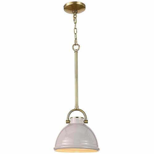 Regina Andrew Eloise Pendant Light - Color: Glossy - Size: Small - 16-1288GRY