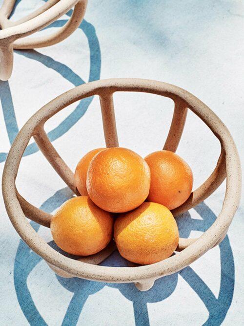 SIN Prong Bowl, Stoneware