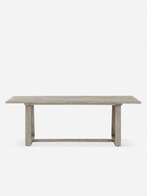 Tika Indoor / Outdoor Dining Table, Gray
