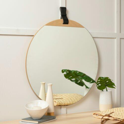 Bernadette Round Mirror