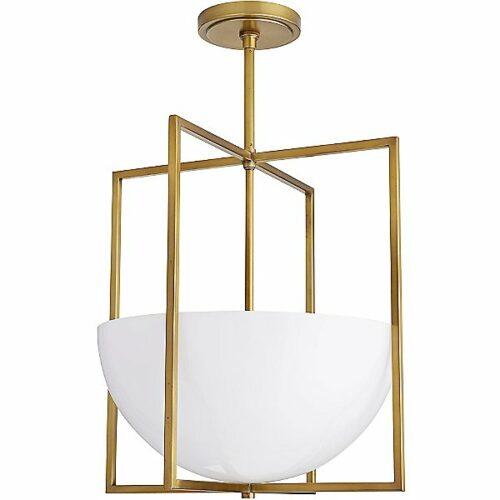 Royce Pendant Light by Arteriors - Color: Gold - Finish: Brass - (49177)