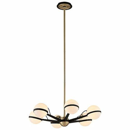 Troy Lighting Ace Chandelier - Color: White - Size: 6 light - F5303